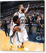 Mike Conley Canvas Print