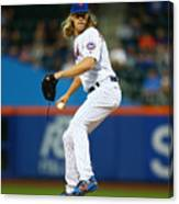 Noah Syndergaard Canvas Print