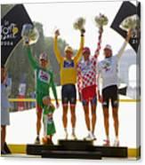 Tour De France Stage 20 Canvas Print