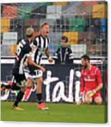 Udinese Calcio v Atalanta BC - Serie A Canvas Print