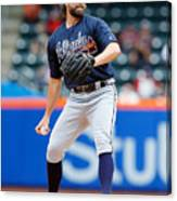 Atlanta Braves v New York Mets Canvas Print