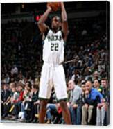 Khris Middleton Canvas Print