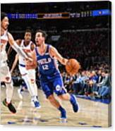 T.j. Mcconnell Canvas Print
