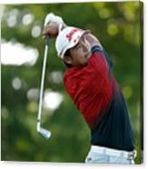 World Golf Championships-Bridgestone Invitational - Round One Canvas Print