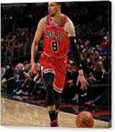 Zach Lavine Canvas Print