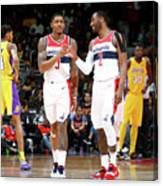 John Wall and Bradley Beal Canvas Print