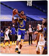 LA Clippers v Golden State Warriors Canvas Print