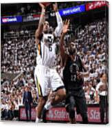 Joe Johnson Canvas Print