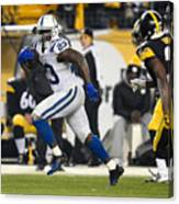 Indianapolis Colts v Pittsburgh Steelers Canvas Print