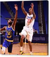 LA Clippers v Golden State Warriors Canvas Print