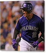 Troy Tulowitzki Canvas Print