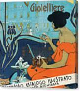 A Calderoni Gioielliere, Milan, 1898 Canvas Print