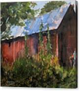 Abandoned  at Aum Creek Canvas Print