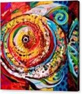 Acidfish Junior Canvas Print
