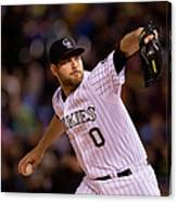 Adam Ottavino Canvas Print