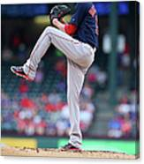 Adrian Beltre and Clay Buchholz Canvas Print