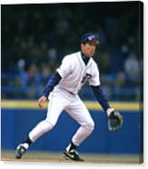 Alan Trammell Canvas Print
