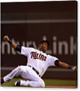 Albert Pujols and Torii Hunter Canvas Print