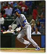 Alcides Escobar Canvas Print