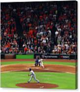 Alex Bregman And Kenley Jansen Canvas Print