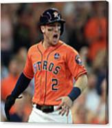 Alex Bregman Canvas Print