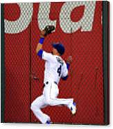 Alex Gordon and Kurt Suzuki Canvas Print