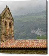 An Old Hermitage In Asturias Canvas Print