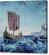 Ancient Mariner Canvas Print