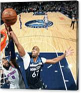 Andre Drummond and Taj Gibson Canvas Print