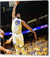 Andre Iguodala and Stephen Curry Canvas Print