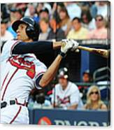 Andrelton Simmons Canvas Print