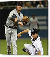 Andrew Romine and Seth Smith Canvas Print