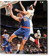 Anthony Davis and Ron Baker Canvas Print