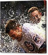 Anthony Rizzo and Kris Bryant Canvas Print