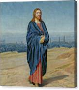 Appearance Of Christ Canvas Print