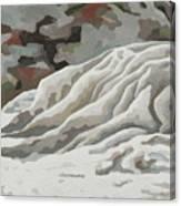 Badlands #11 Canvas Print