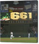 Barry Bonds Canvas Print