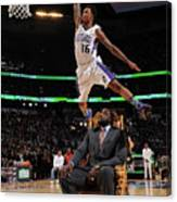 Ben Mclemore and Shaquille O'neal Canvas Print