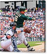 Billy Burns and Billy Butler Canvas Print