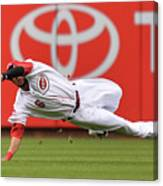 Billy Hamilton and Starling Marte Canvas Print
