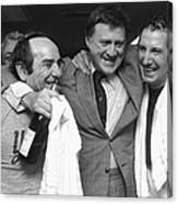 Billy Martin and Yogi Berra Canvas Print