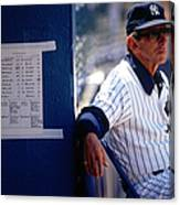 Billy Martin Canvas Print