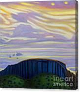 Black Mesa Canvas Print