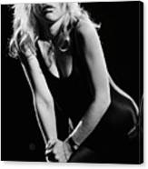 Blondie In Concert At The Whiskey Canvas Print