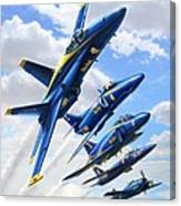 Blue Angels Heritage Canvas Print
