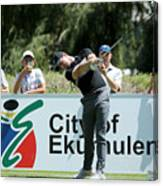 BMW South African Open Championship - Previews Canvas Print