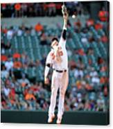 Boog Powell and Manny Machado Canvas Print