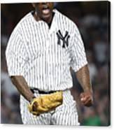 Boston Red Sox v New York Yankees Canvas Print
