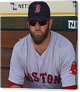 Boston Red Sox v Oakland Athletics Canvas Print