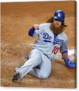 Brad Peacock and Justin Turner Canvas Print
